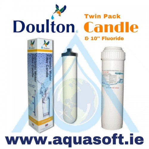 Doulton® Supercarb Candle W9122050 & 10'' Fluoride