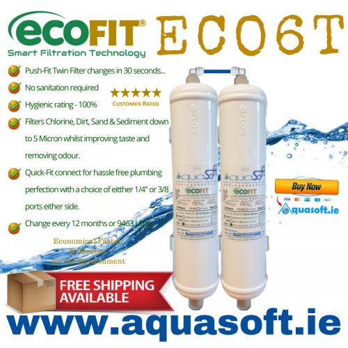 EcoFIT® ECO6T | Push Fit | Inline Filters