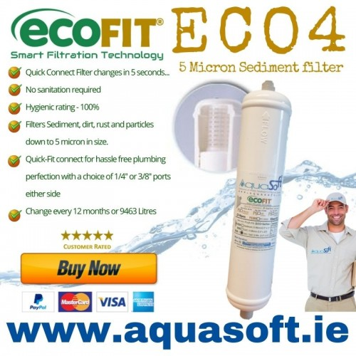 EcoFIT® ECO4 | Push-Fit | Inline Filter