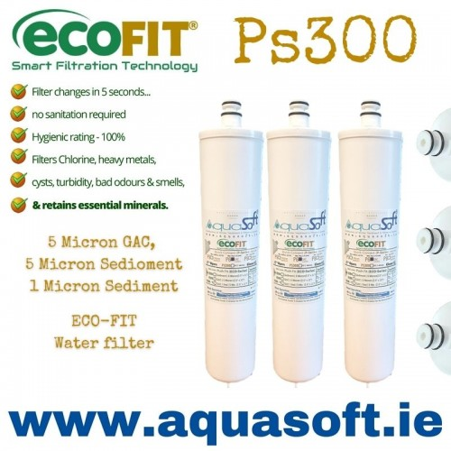 EcoFIT® Ps300 Quick-Connect | Filter Set