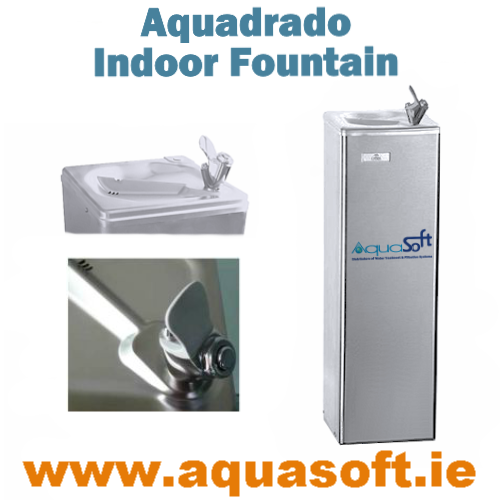 Aquasoft™ Aquadrado Indoor Free Standing Fountain