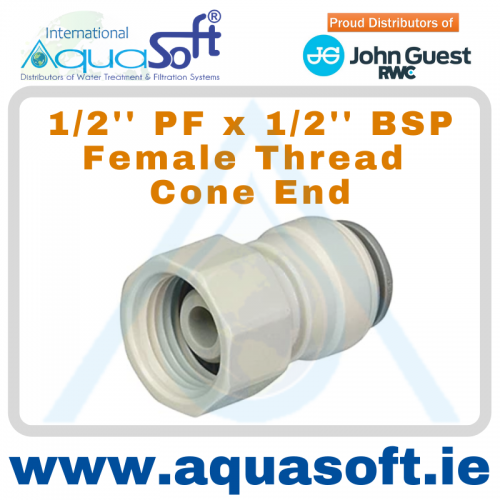 1/2'' PF x 1/2'' BSP Thread - PI451614CS