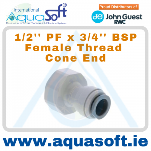 1/2'' PF x 3/4'' BSP Female Thread - PI451616CS