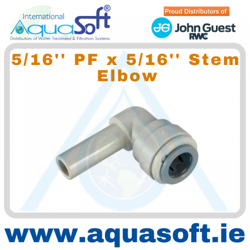 5/16'' PF x 5/16'' Stem Elbow | PM220808S