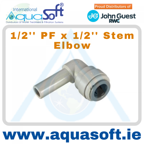 1/2'' PF x 1/2'' PF Stem Elbow - PI221616S