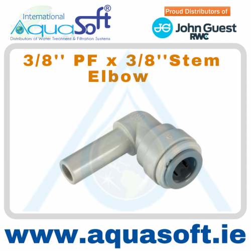 3/8'' PF x 3/8'' PF Stem Elbow - PI221212S