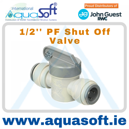 1/2'' PF Shut off valve - PISV0416S