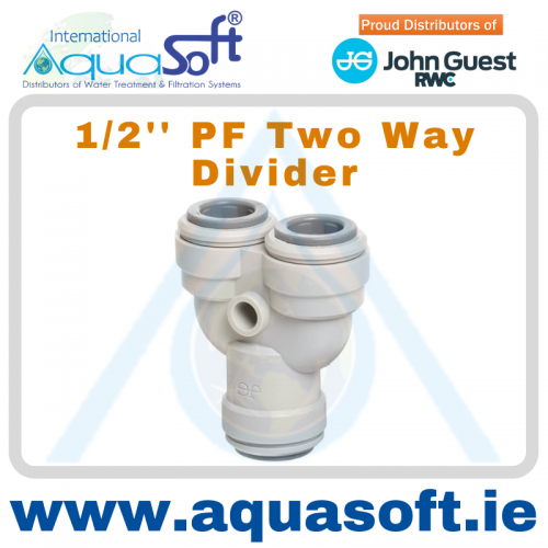 1/2'' PF Two Way Divider - PI2316S