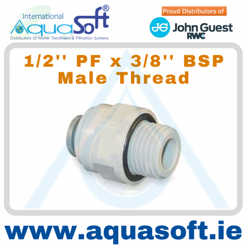 1/2'' PF x 3/8'' BSP male Thread - PI011613S