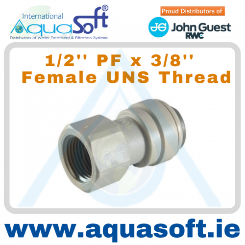 1/2'' PF x 3/8'' - Female BSP Thread - PI4512C5S