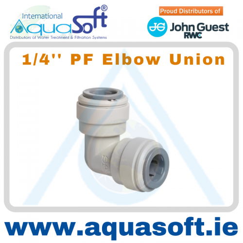1/4'' PF Elbow Union - PI0308S