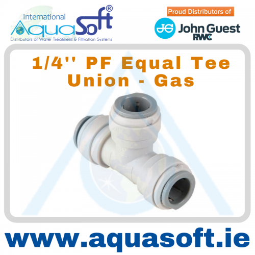 1/4'' PF - Equal Tee Union - PI0208S - (GAS)