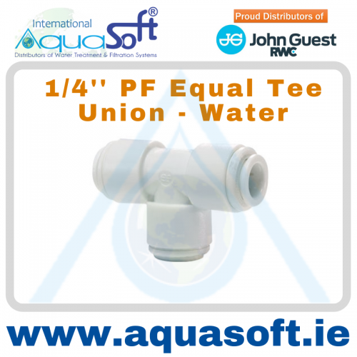 1/4'' PF - Equal Tee Union - CI0208W - (Water)