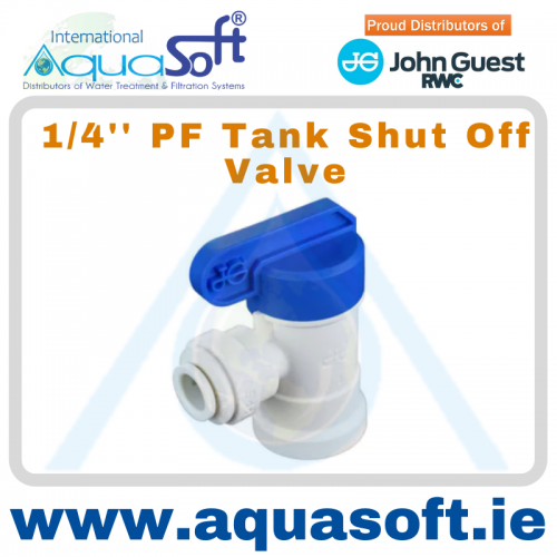 1/4'' PF - Tank Shut off - PPSV500822W