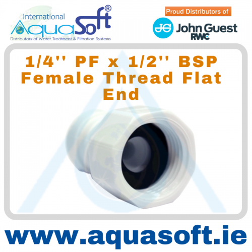 1/4'' PF x 1/2'' BSP Female Thread - CI450814FW