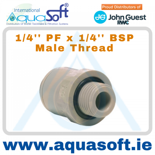 1/4'' PF x 1/4'' BSP Male Thread - PI010812S