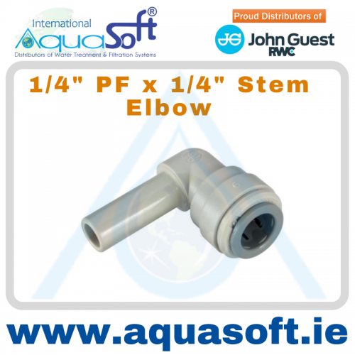 1/4'' PF x 1/4'' Stem Elbow | PI220808S