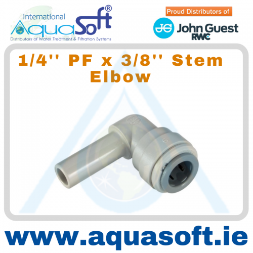 1/4'' PF x 3/8'' Stem Elbow - PI221208S