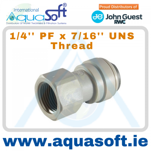 1/4'' PF x 7/16'' Uns Thread - CI3208U7S