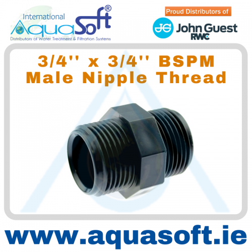 3/4'' x 3/4'' BSPM Male Nipple Thread