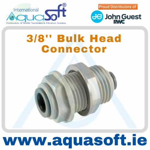 3/8'' Bulkhead Connector  - PI1212S