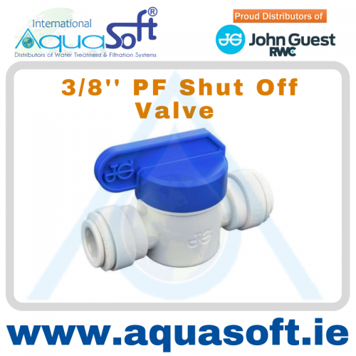 3/8'' PF Shut off Valve - PPSV041212W