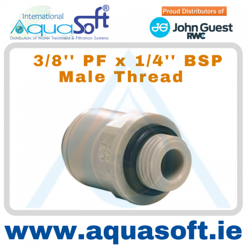 3/8'' PF x 1/4'' BSP Male Thread - PI011212S
