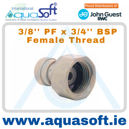 3/8'' PF x 3/4'' BSP Female Thread - CI321216FS