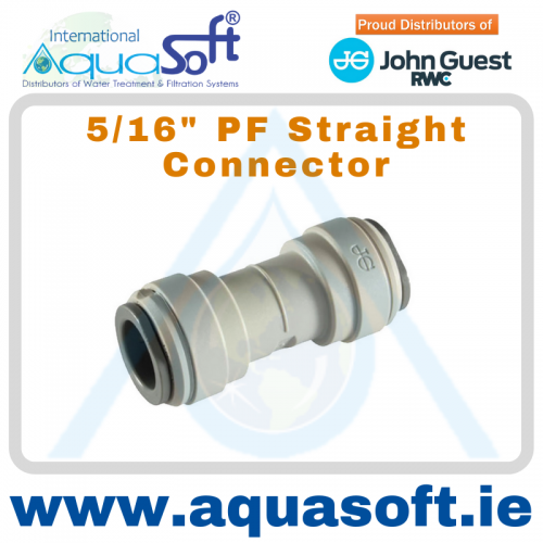 5/16'' PF Straight Connector | PM0408S
