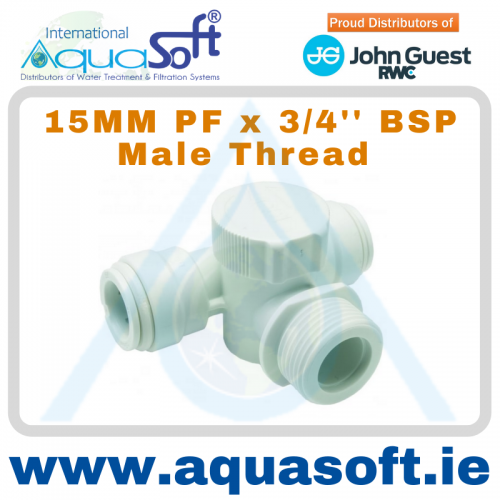 15MM PF x 3/4'' BSP Male Thread - 15APT2