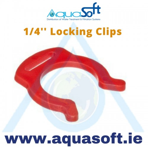 1/4'' Locking Clips - PIC1808R