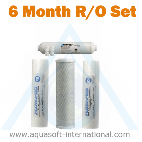 4, 5 & 6 Stage Reverse Osmosis Filter - Pack 1