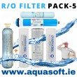 6 Stage Reverse Osmosis Filter - Pack 5