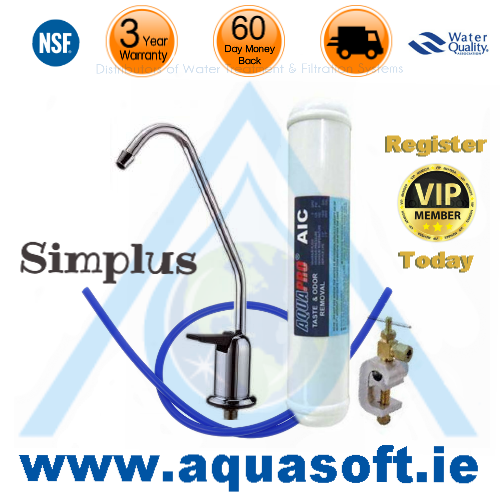 The Simplus Undersink Water Filtration System
