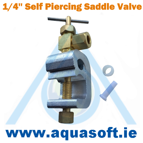 1/4'' Inch Self Piercing Saddle Valve