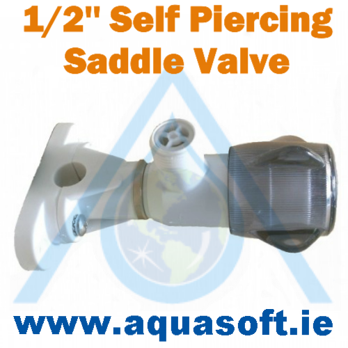 1/2'' Inch Self Piercing Saddle Valve