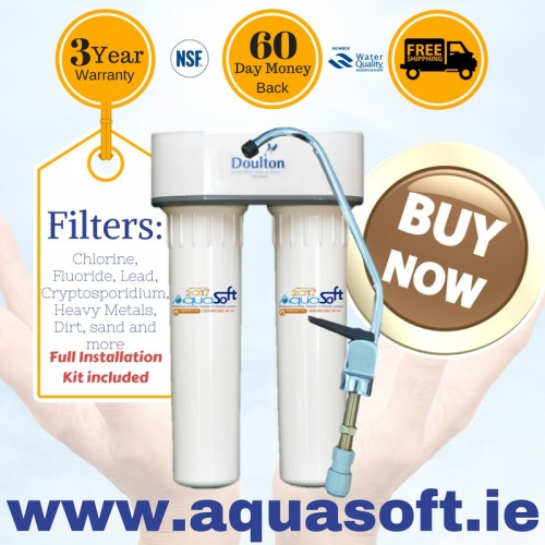 Doulton® HIP Duo undersink Water Filtration System