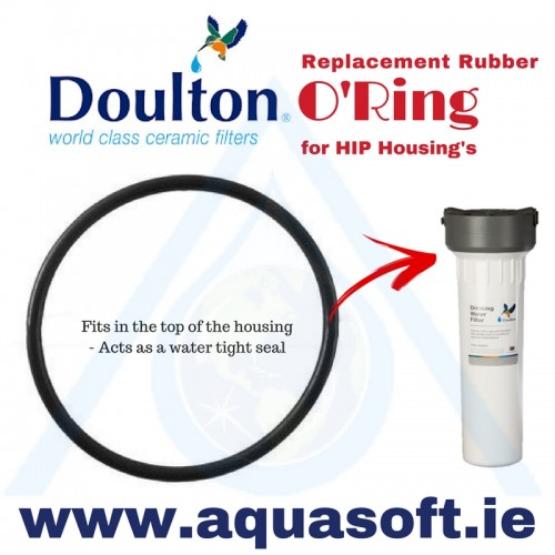 Doulton® HIP Replacement Rubber O'Ring | W239009