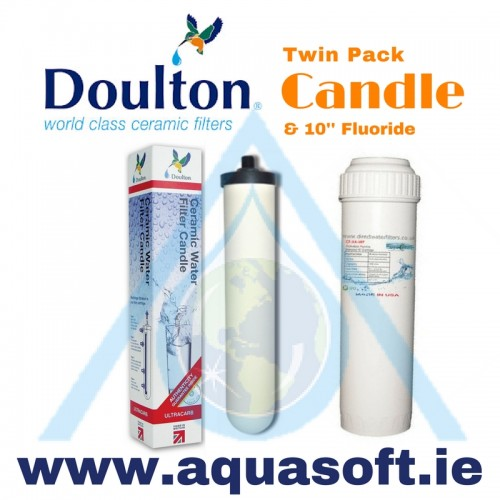 Doulton® Ultracarb Candle W9123053 & 10'' Fluoride