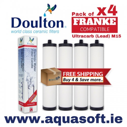 Doulton® Ultracarb M15 FRANKE Pack of 4 - W9223021