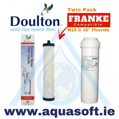 Doulton® M15 Ultracarb W9223021 & 10'' Fluoride