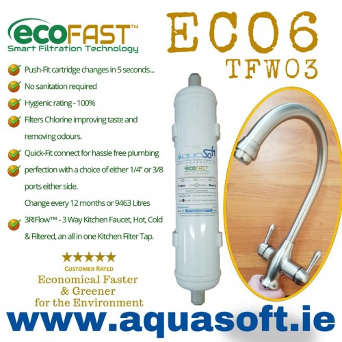 EcoFAST™ ECO6  Filter System | TFW-03 Tap