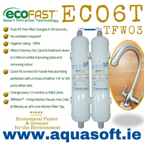EcoFAST™ ECO6T Filter System | TFW-03 Tap
