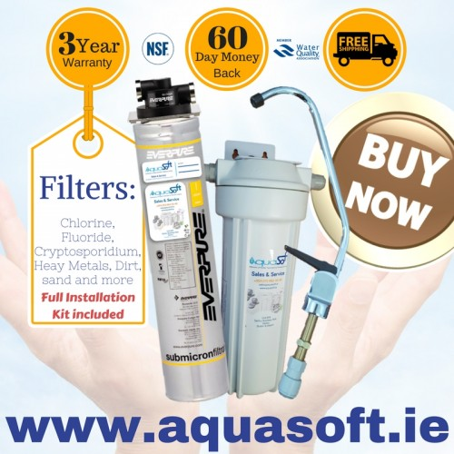 Everpure® Quick-Fit Fluoride Filter System|FLR-01 Tap