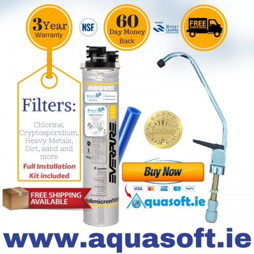 Everpure® Quick Fit Water Filter System|FLR-01 Tap