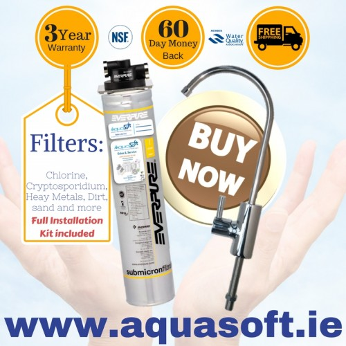 Everpure® Quick Fit Water Filter System|FLR-03 Tap