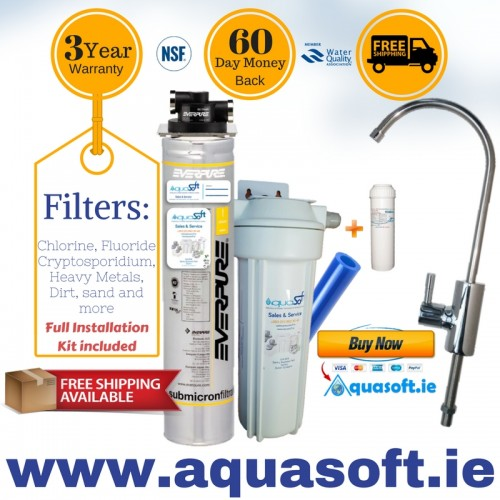 Everpure® Quick-Fit Fluoride Filter System|FLR-03 Tap