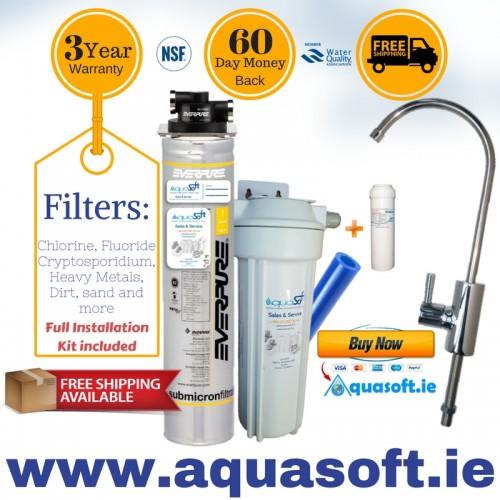 everpure quickfit fluoride filter systemflr03 tap