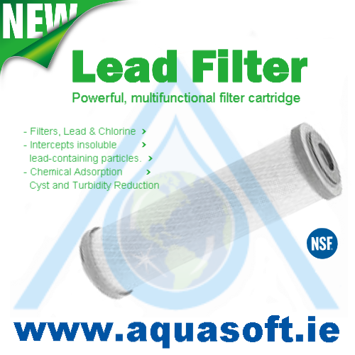 Lead Filter 0.5 Micron x 2½'' x 10'' inch