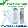 Lead, Fluoride & Chlorine Filter Pack (P-10)